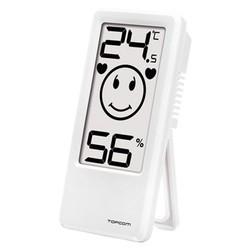 TOPCOM Thermometer / Hygrometer Innen weiß