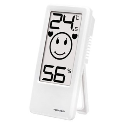TOPCOM Thermometer/Hygrometer Binnen Wit