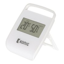 Thermometer / Hygrometer Indoor White