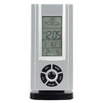 Thermo Hygrometer Weerstation Binnen Zilver