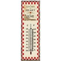 Retro Analog Thermometer Rustic