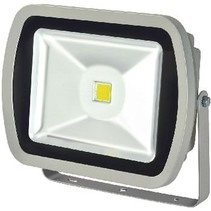 LED Floodlight 80 W 5600 lm Gray Bouwlamp