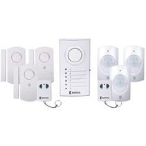 Draadloze Alarm Set - 433 Mhz / 100 dB