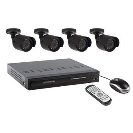 Valueline CCTV-Set HDD 500 GB / 420 TVL - 4x Camera