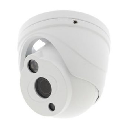 König Full HD Dome Security Camera IP66 White