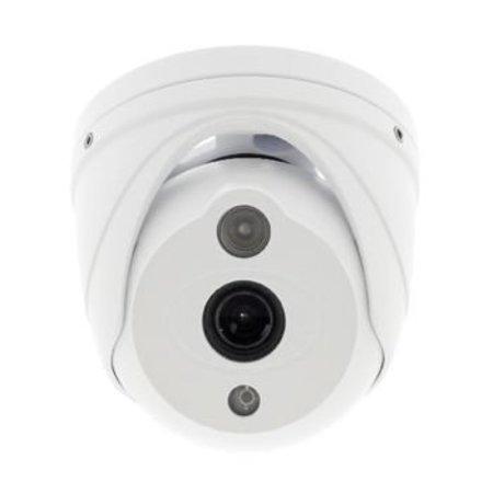 König Full HD Dome Beveiligingscamera IP66 Wit
