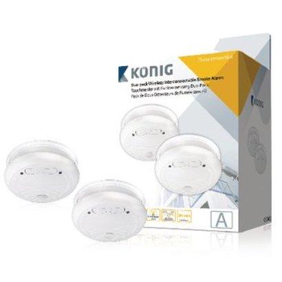 König Smoke detector SA2002 - interconnectable - EN14604