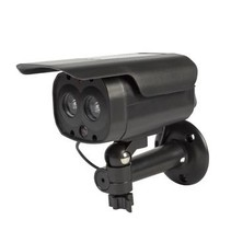 Bullet Dummy Camera IP44 Zwart