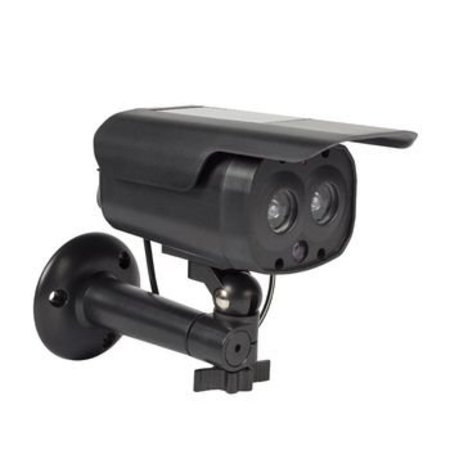 König Bullet Dummy Camera IP44 Zwart