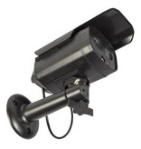 König Bullet Dummy Kamera IP44 Schwarz