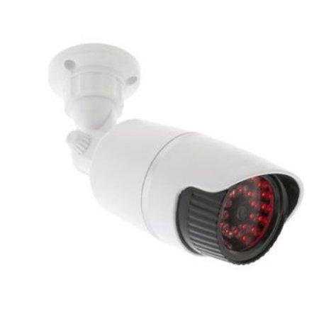 König Bullet Dummy Kamera IP44 Weiß