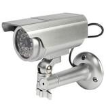 König Bullet Dummy Camera IP44 Zilver