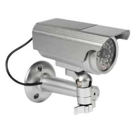 König Bullet Dummy Camera IP44 Silver