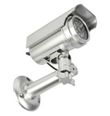 König Bullet Dummy Kamera IP44 Silber