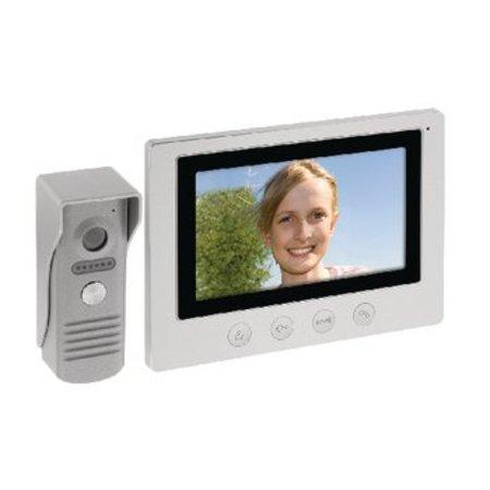 "König 7 ""Video Türsprechanlage Türklingel Video Intercom"