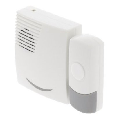 Valueline Wireless Doorbell Set Battery-powered 70 dB White / Gray