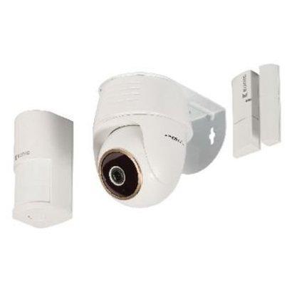 König Full HD Smart IP-Kamera-Set in 1080P Weiß
