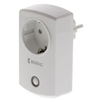 König Smart Home Plug-In Stopcontact - Schuko / Type F (CEE 7/7)