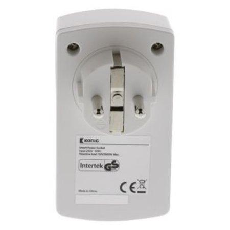 König Smart Home Plug-In Power Outlet