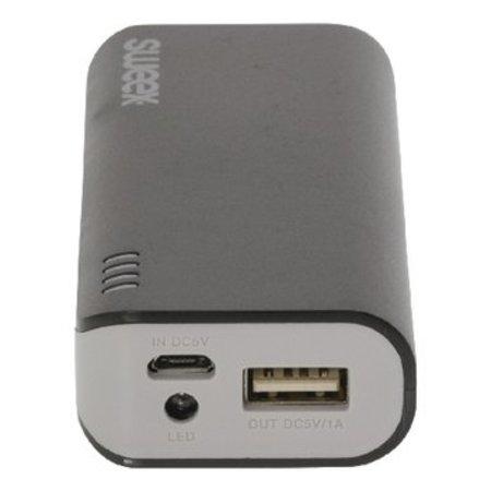 Sweex Draagbare Powerbank Lithium-Ion 4000 mAh USB Zwart