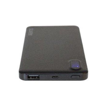 Sweex Draagbare Powerbank Lithium-Polymeer 8000 mAh USB Zwart