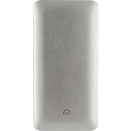 Mobilize Draagbare Powerbank 10000 mAh USB / Micro-USB Zilver