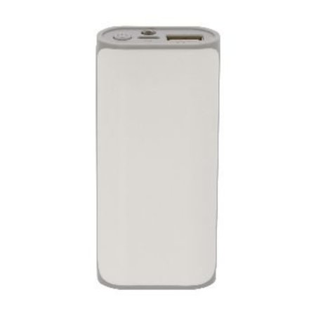 König Portable Powerbank 5000 mAh USB Weiß