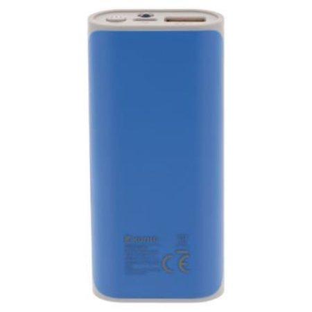 König Draagbare Powerbank Lithium-Ion 5000 mAh USB Blauw