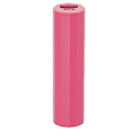 König Tragbare Powerbank 2500 mAh USB Pink