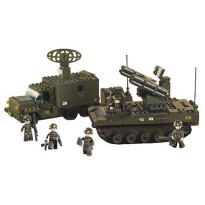 Sluban Bouwstenen Army Serie Raketlanceersysteem
