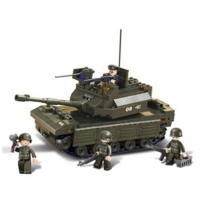 Sluban Bouwstenen Army Serie Tank