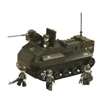 Blocks Series Army Armored Vehicle