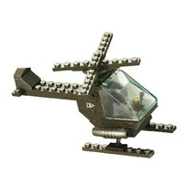 Blocks Series Army Combat Helicopter