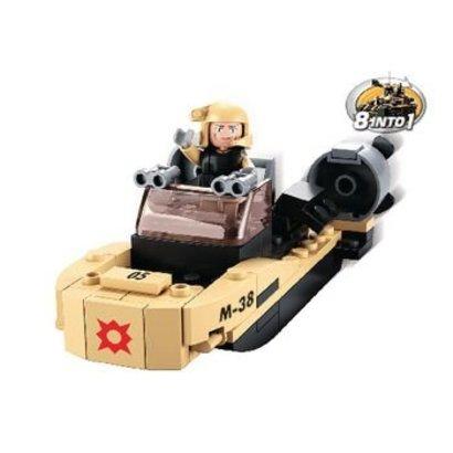 Sluban Bouwstenen Army Serie Assault Boat