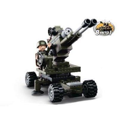Sluban Bouwstenen Army Serie Artillery