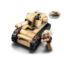 Sluban Bausteine Army Serie Tank