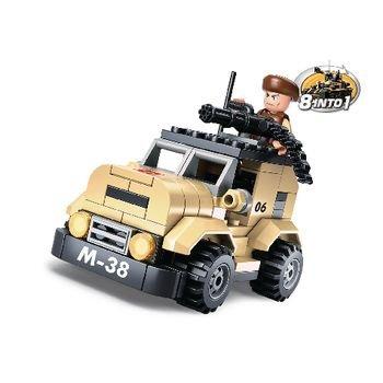 Sluban Bouwstenen Army Serie Patrouillewagen