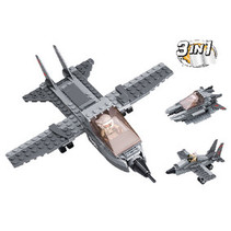 Blocks Aircraft Carrier Fighter Series 3-in-1