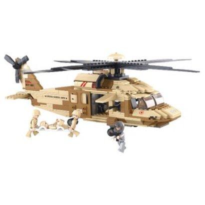 Sluban Bouwstenen Army Serie Utility-Helikopter