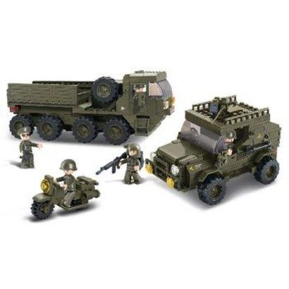 Sluban Bouwstenen Army Serie Service Troops