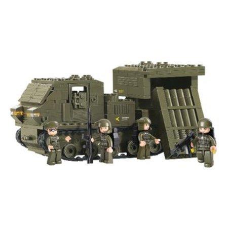 Sluban Bouwstenen Army Serie Raketlanceervoertuig