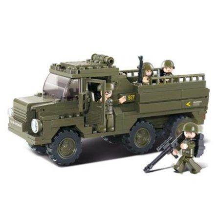 Sluban Bouwstenen Army Serie Vrachtwagen