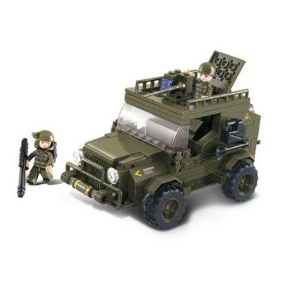 Sluban Bouwstenen Army Serie SUV