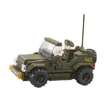 Sluban Bouwstenen Army Serie Jeep