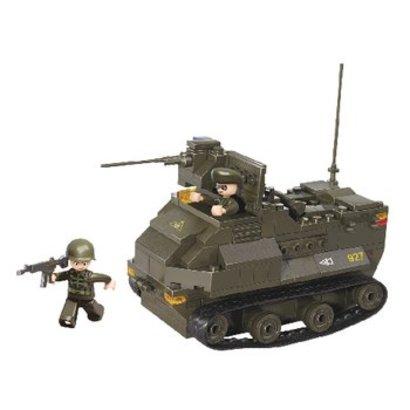 Sluban Bouwstenen Army Serie Gepantserd Voertuig