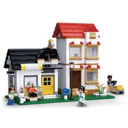 Sluban Bouwstenen Town Serie Huis