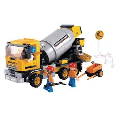 Sluban Bouwstenen Town Serie Cement mixer