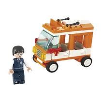 Bricks Town Series Minibus