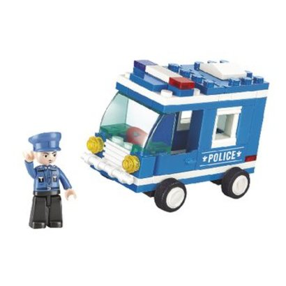 Sluban Bouwstenen Town Serie Politiebus