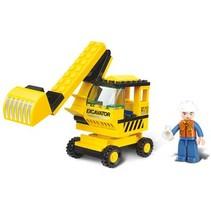 Bricks Town Series Excavator